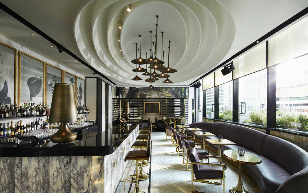 Decor Inspiration - Brass Furniture and Accessories  Decor Inspiration – Brass Furniture and Accessories David Collins Vogue Lounge