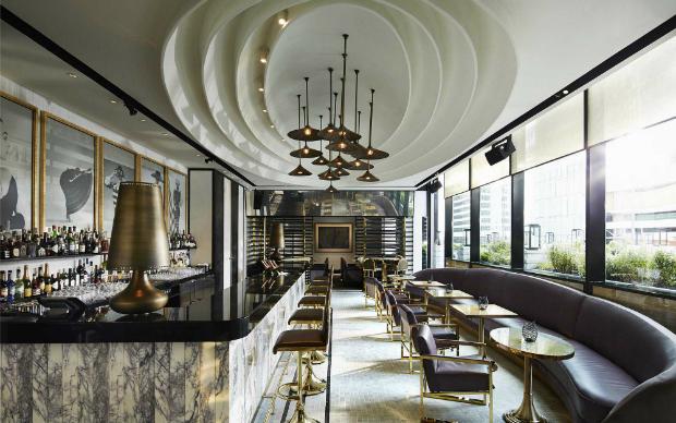 Decor Inspiration - Brass Furniture and Accessories  Decor Inspiration – Brass Furniture and Accessories David Collins Vogue Lounge