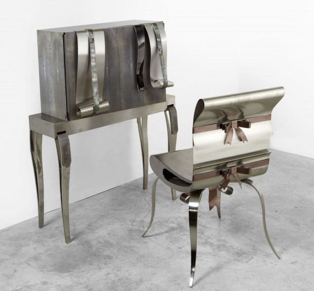 Art furniture by Maria Pergay  Art furniture by Maria Pergay Art furniture by Maria Pergay furniture1