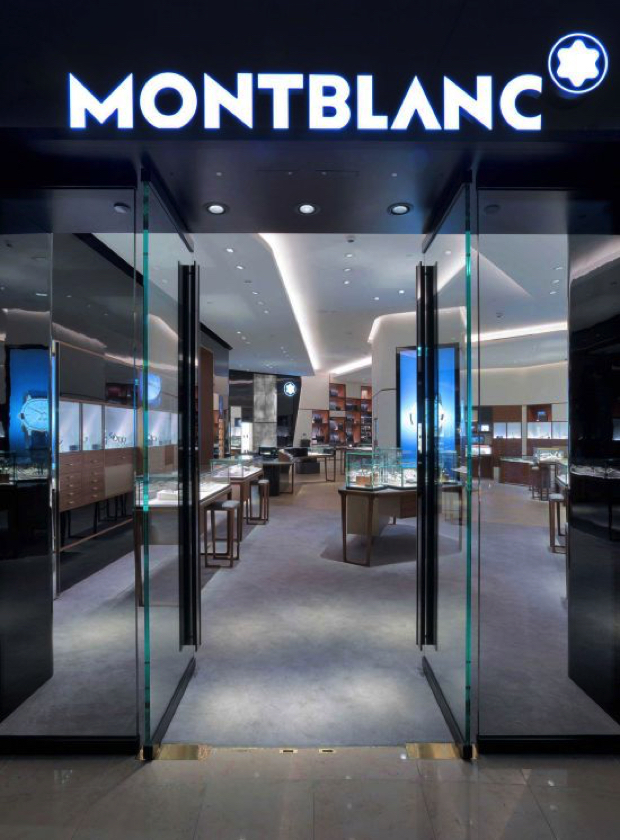 Noé Duchaufour-Lawrence Comissioned to Design New Montblanc Boutiques  Noé Duchaufour-Lawrence Comissioned to Design New Montblanc Boutiques Mont blanc boutique 2 Resized