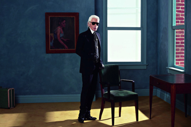 Karl Lagerfeld's Paris Exhibition - A Preview karl lagerfeld Karl Lagerfeld Paris Exhibition – A Preview Inspiration Karl Lagerfeld Portrait