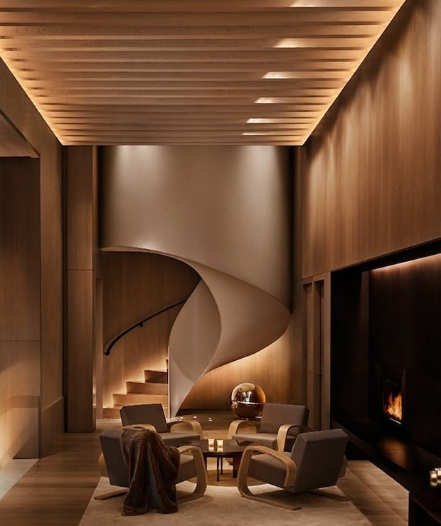 Best interior design new york edition hotel by david for Best interior decorators