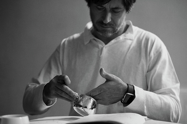 Marc Newson Signs Hand Crafted Tea Set