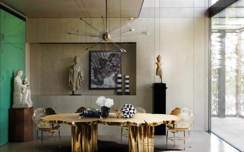 Luxury Inspirations - Dining Room Trends