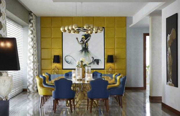 Luxury Inspirations -  dining room Luxury Inspirations - Dining Room Trends inspiration koi dining table