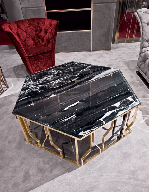 Geometric Center Table  center tables 50 Modern Center Tables for a Luxury Living Room 15