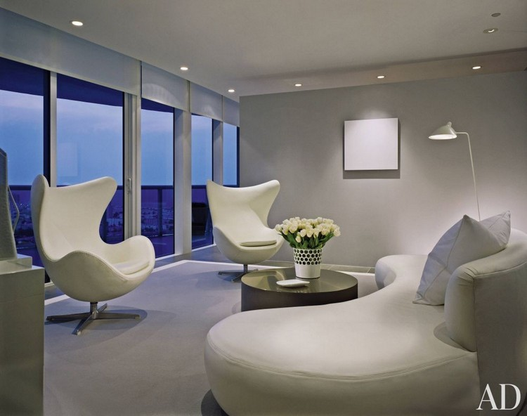 20 modern armchairs for a contemporary living room for Very modern living room