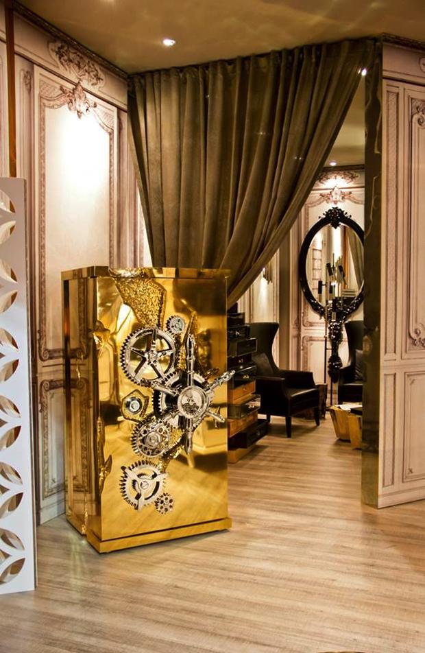 Luxury Safes Gold Luxury Safes 15 Luxury Safes for the Modern Household Boca do Lobo Millionaire