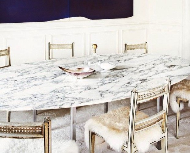 Marble Surface Luxury Dining Tables 20 For The Modern Room Oval Granite