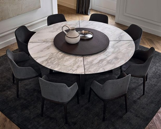 20 Luxury Dining Tables For The Modern, Luxury Round Table