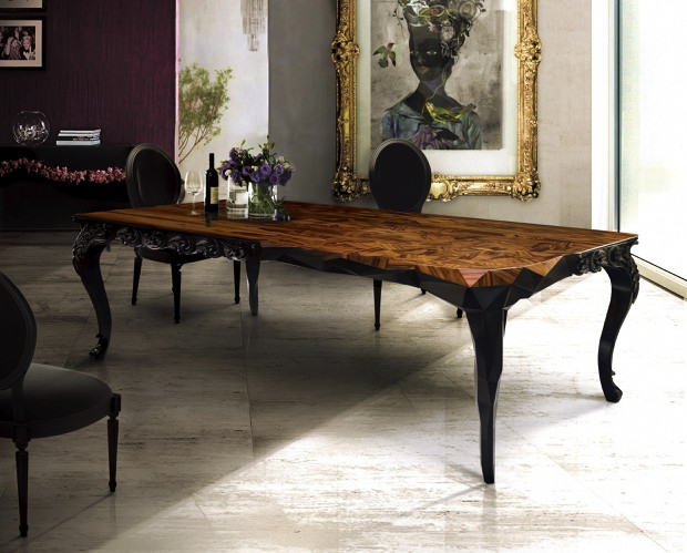 20 luxury dining tables for the modern dining room luxury dining room furniture designer brands luxdeco com