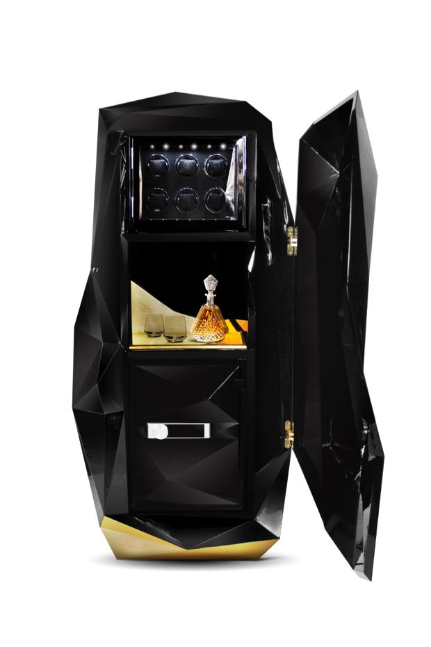 Luxury Safes Black Luxury Safes 15 Luxury Safes for the Modern Household diamond safe box HR 02