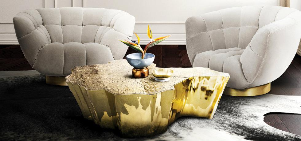 center tables 50 Modern Center Tables for a Luxury Living Room ft