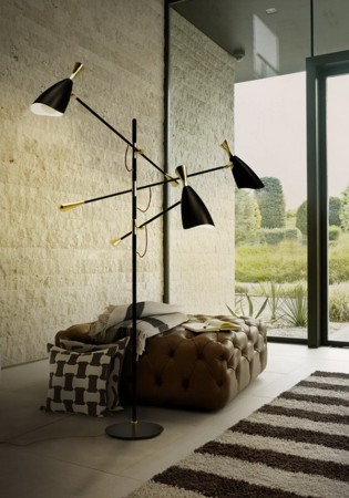 Modern Floor Lamp Modern Floor Lamps 20 Modern Floor Lamps for the Luxury Living Room DL Duke e1449680430628