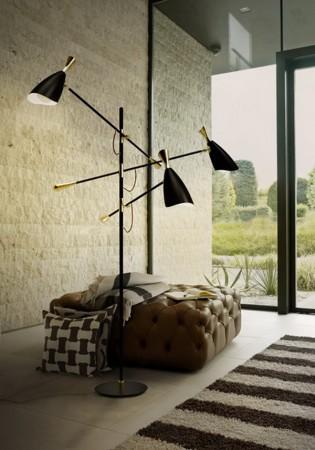 Modern Floor Lamp Modern Floor Lamps 20 Modern Floor Lamps for the Luxury Living Room DL Duke e1449680430628