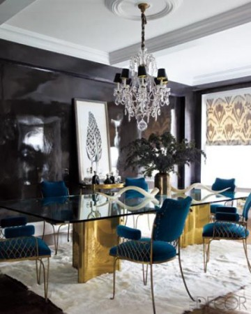 20 Luxury Dining Rooms With Gold Details, Gold Dining Room Ideas