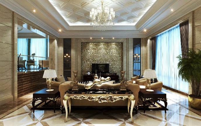 Luxury sofa console