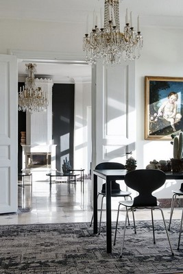 Dining Room Sets 10 Modern Black and White Dining Room Sets That Will Inspire You 10 Modern Black and White Dining Room Sets That Will Inspire You 2