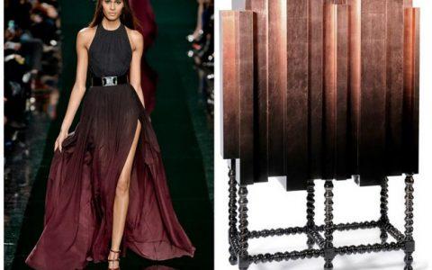 Design Inspiration- Fashion and furniture