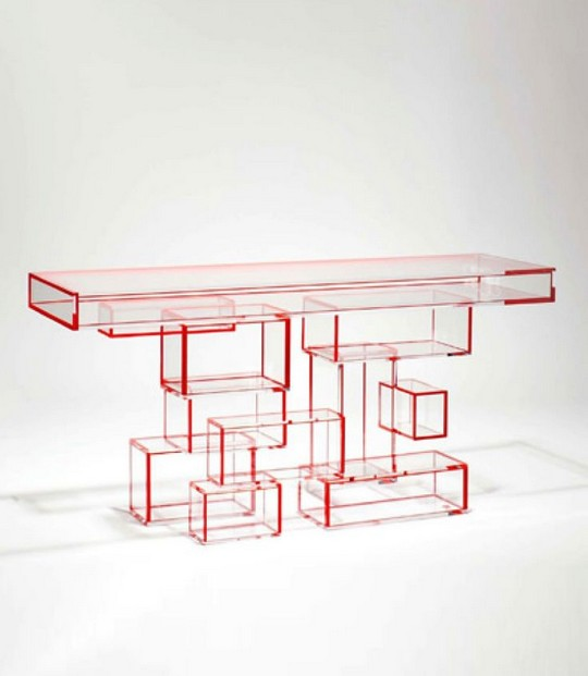designer console tables 10 Distinctive Designer Console Tables for a Modern Decor 545c5a7b67ab374d911b489c04a9cf4a acrylic furniture funky furniture