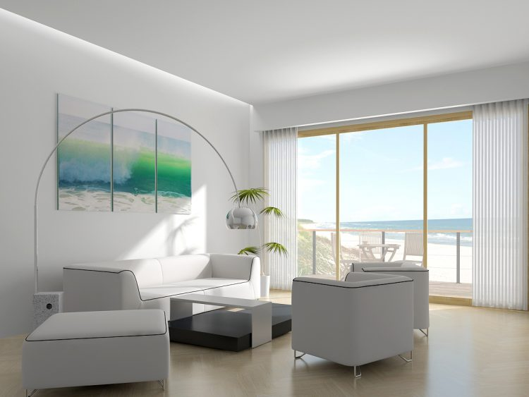 Modern decorating ideas for your beach house for Modern living room 2018