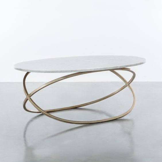 oval brass console table A Premium Selection of Oval Brass Tables oval console table