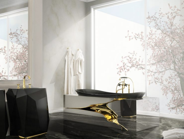 Chic and elegant bathroom