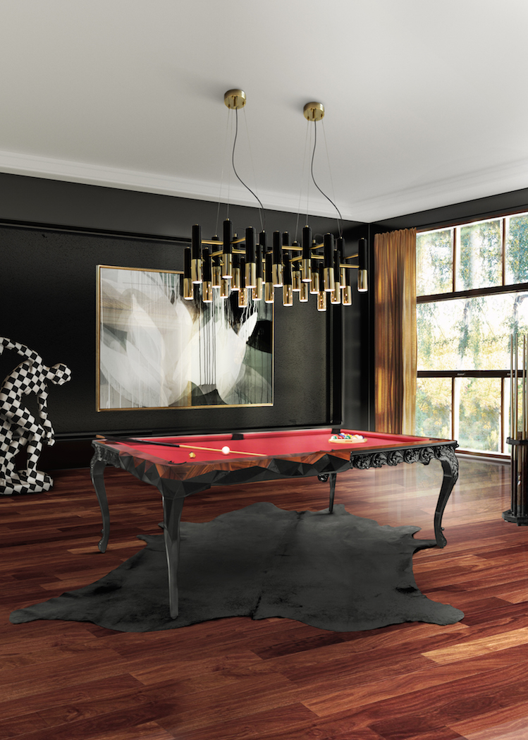 Modern Gaming Room interiors inspired by hotels The best Interiors inspired by Hotels Modern Gaming Room