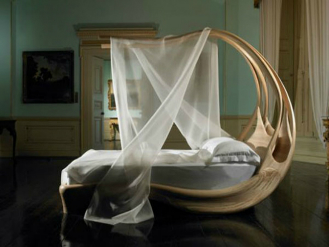 The Shocking Enignum Canopy Master Bed by Joseph Walsh joseph walsh The Shocking Enignum Canopy Master Bed by Joseph Walsh 1