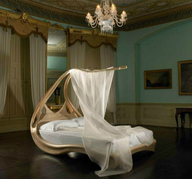The Shocking Enignum Canopy Master Bed by Joseph Walsh joseph walsh The Shocking Enignum Canopy Master Bed by Joseph Walsh 2