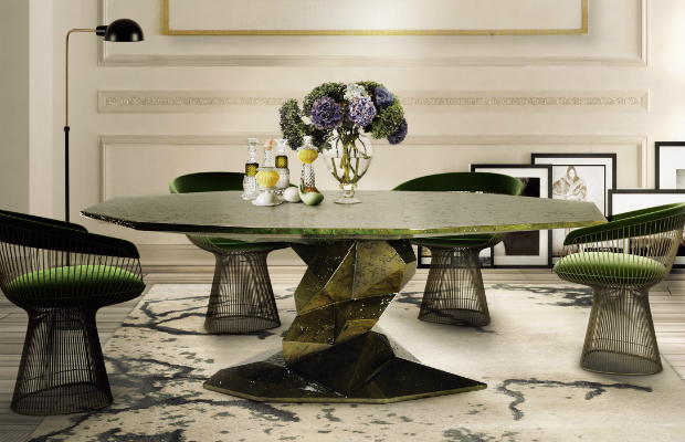 dining table 5 Stunning Dining Table Designs Bonsai 1