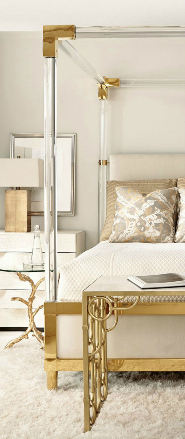 12 Interesting Combination of Gold and Silver in Furniture