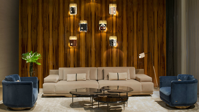 Round Coffee and Side Tables Round Coffee and Side Tables 10 Stylish Ideas with Round Coffee and Side Tables Design 7Fendi Casa 3 Contemporary booth  SMD16 02