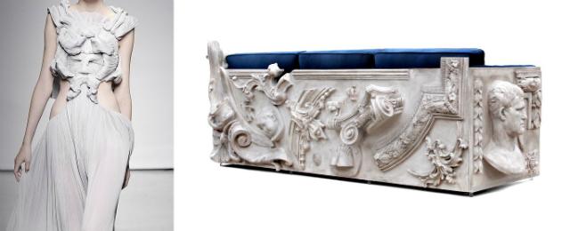 8 design inspirations Design Inspirations – Furniture and Fashion 8
