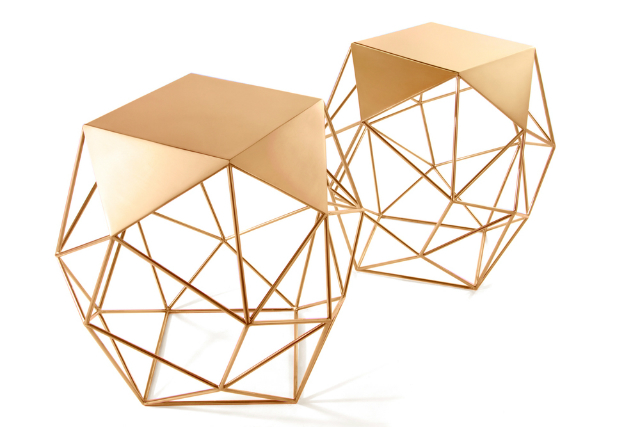 out of ordinary out of ordinary 10 Out Of Ordinary Coffee and Side Table Designs Archimedes Bronze 009