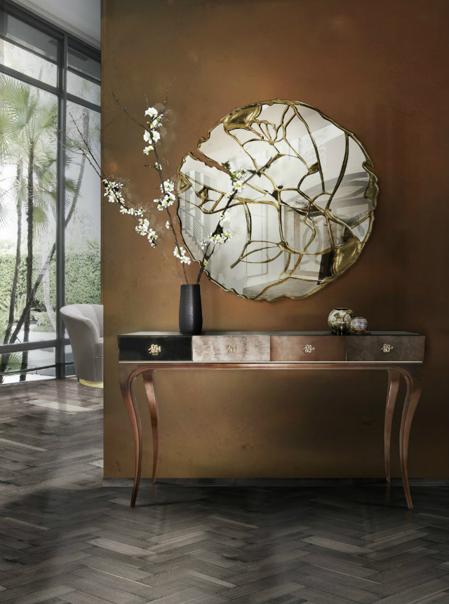 luxury interiors Simple Ideas To Style Your Luxury Interiors Console Table for Your Living Room Design161