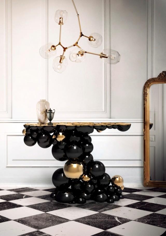 modern console tables modern console tables Living Room Ideas With Modern Console Tables Iconic design pieces exclusive luxury sideboards 2014 5