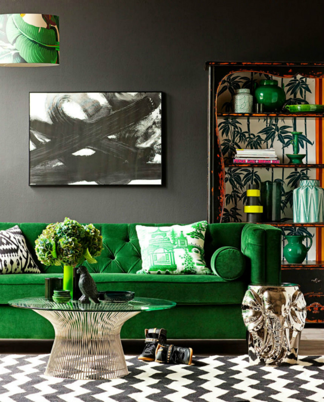 Chic Decorated Living Rooms