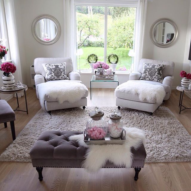 Chic Decorated Living Rooms 15 Chic Decorated Living Rooms de2798b989dfa40bdae2f861fd898e81