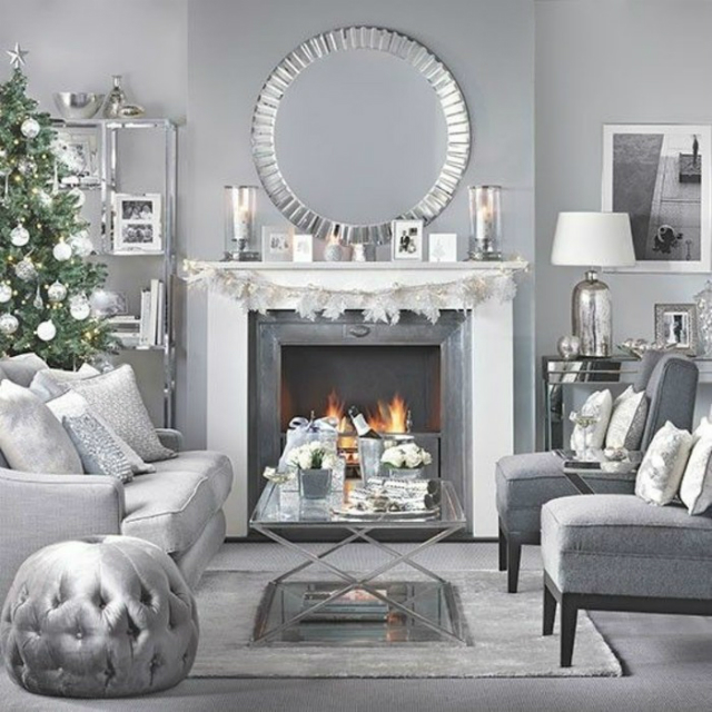 15 Chic Decorated Living Rooms