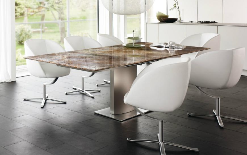 modern dining tables Modern Dining Tables 20 Modern Dining Tables To Be Inspired By fotos von esstisch betonoptik wohnideen