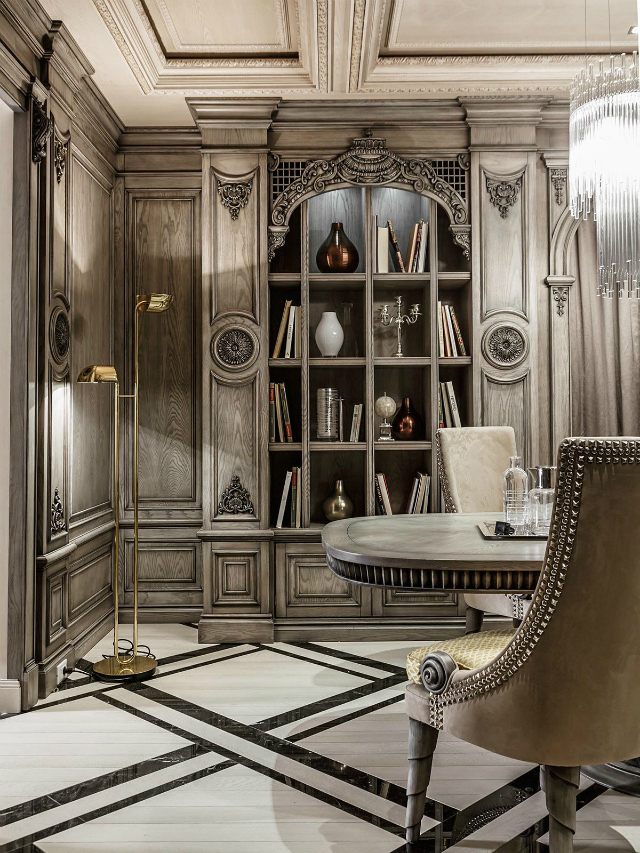 neoclassical-design-inspiration  luxury interiors Simple Ideas To Style Your Luxury Interiors neoclassical design inspiration