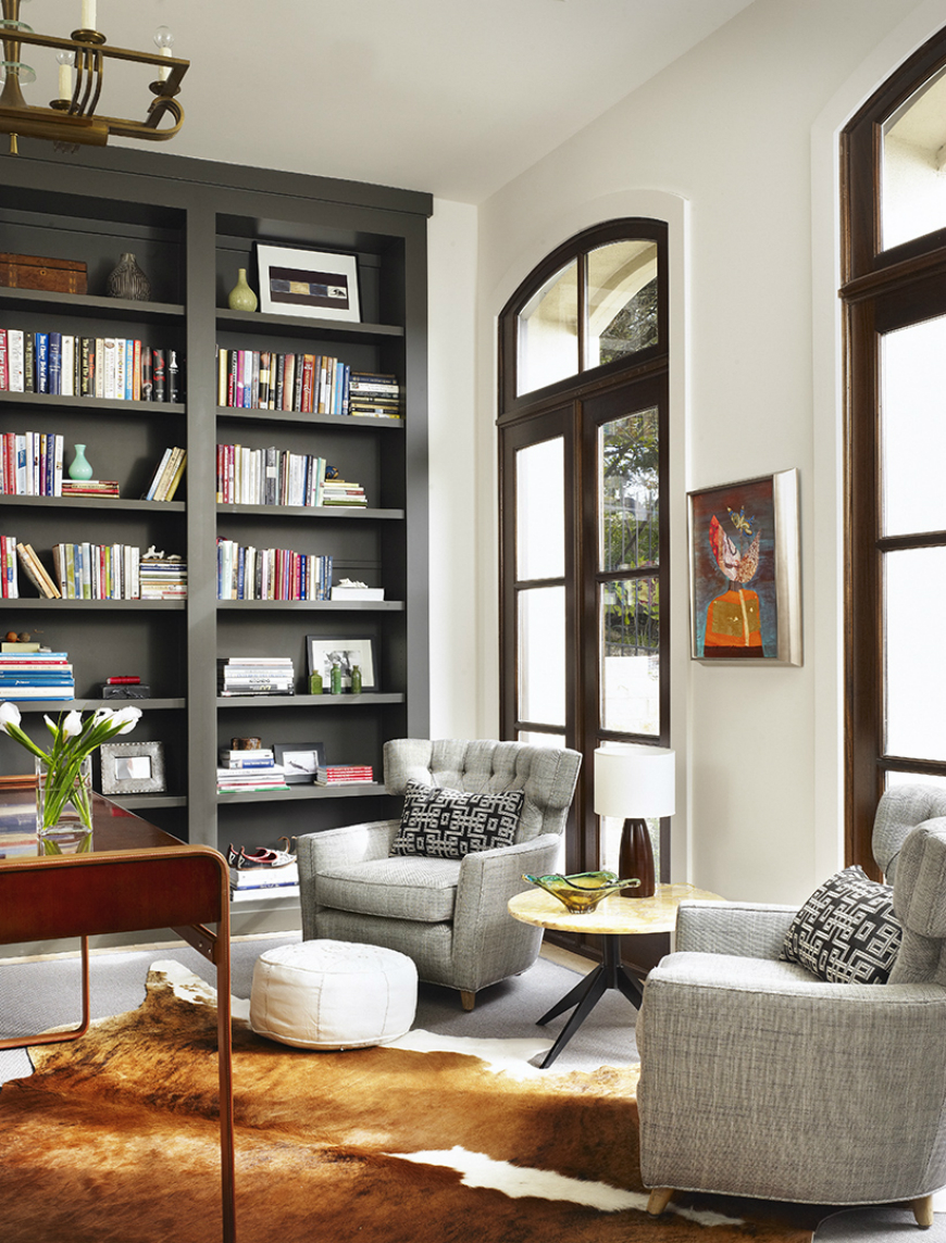 bookcase cabinets living room rooms that prove black built in bookcases are the next big 16150