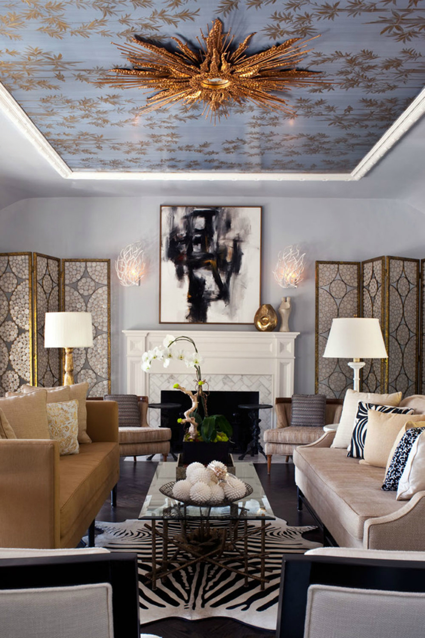 Animal Prints Animal Prints in Luxury Living Rooms Designing A Timeless Interior Helps You Save Time And Money8