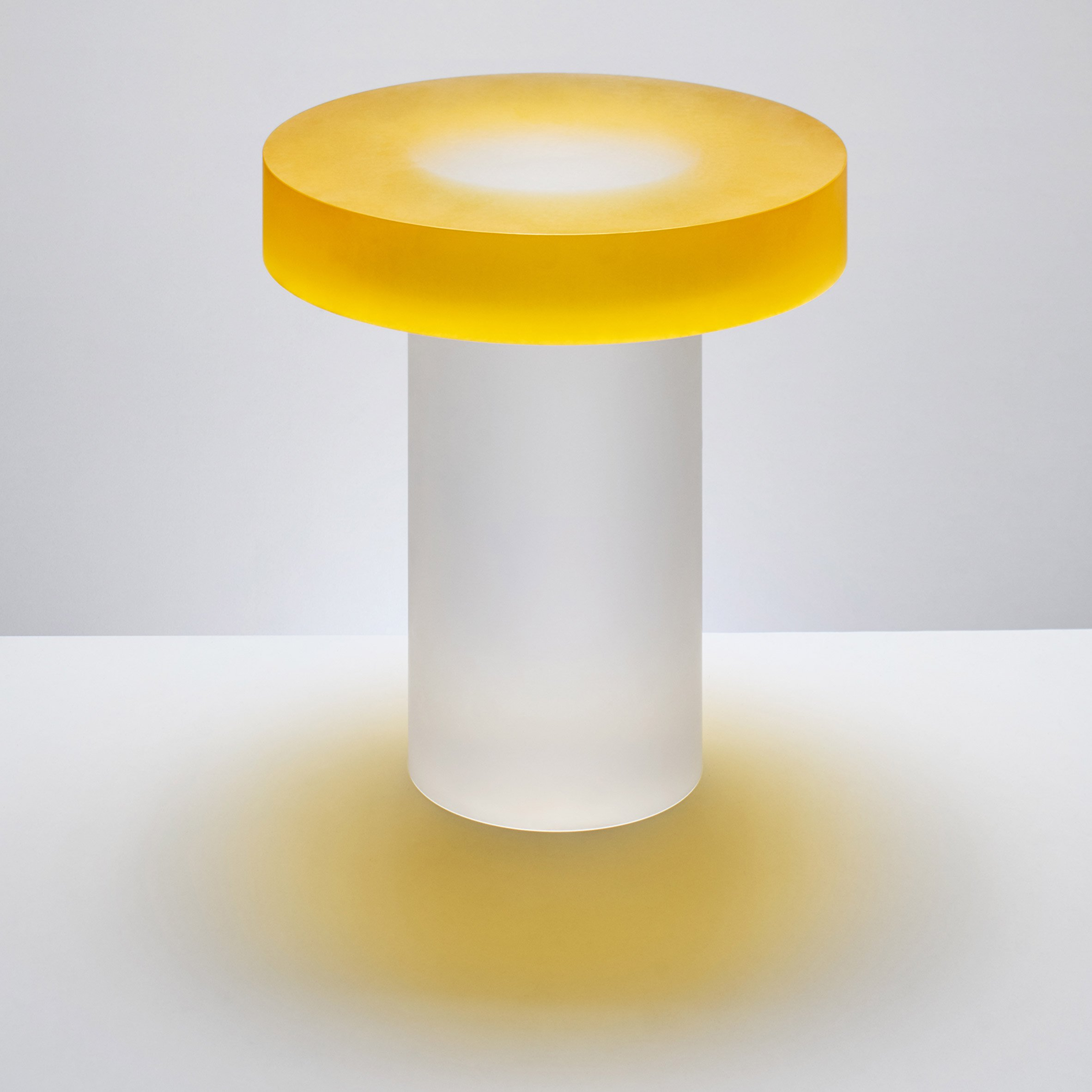 """candy-coloured resin candy-coloured resin Candy-coloured resin tables that """"challenge visual perception"""" block andy martin design furniture dezeen 2364 col 5"""