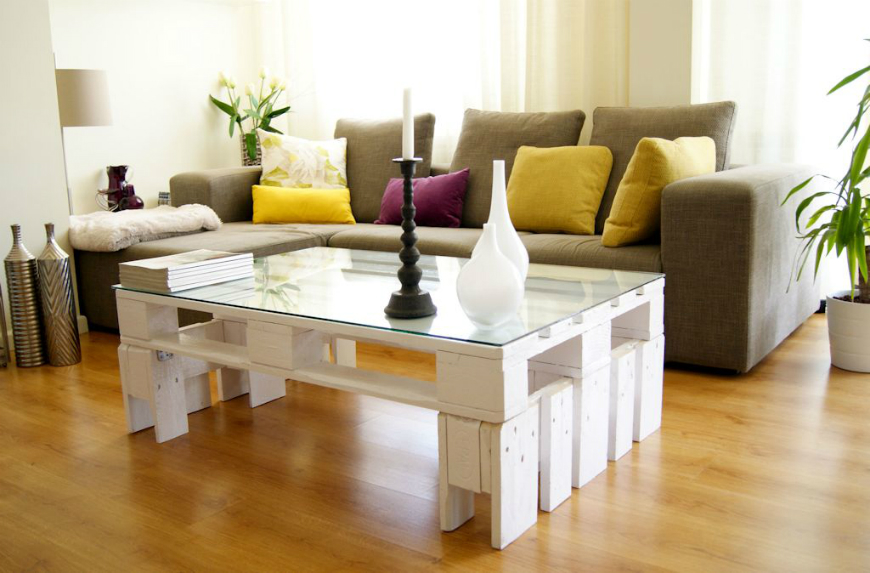 Vintage Coffee and Side Tables Home Decorating Ideas With Vintage Coffee and Side Tables europalet blanco mesa
