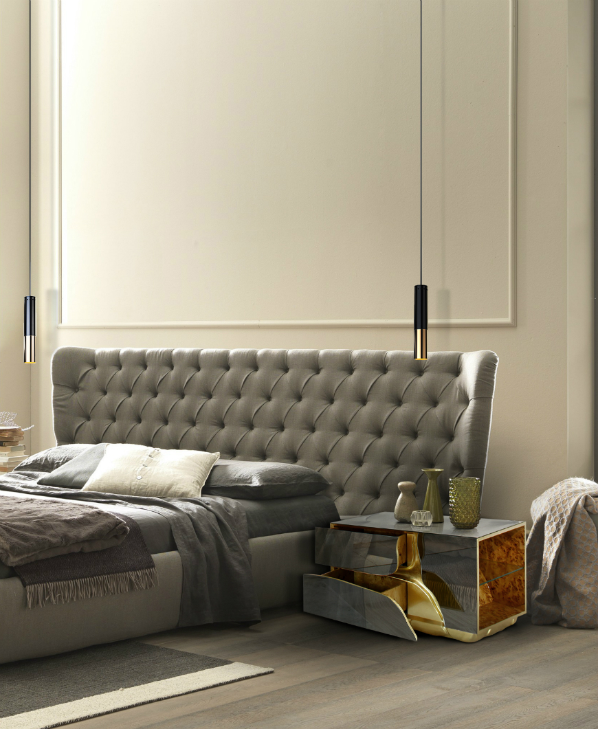10 Exclusive Bedside Tables for your Master Bedroom Decor - Lapiaz Nightstand by Boca do Lobo