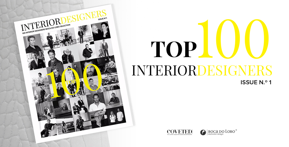 Boca do Lobo 100 Inspiring Interior Designers by Boca do Lobo & COVETED – PART I suplemento