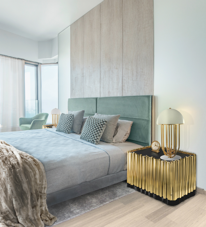 10 Exclusive Bedside Tables for your Master Bedroom Decor - Symphony Nightstand by Boca do Lobo