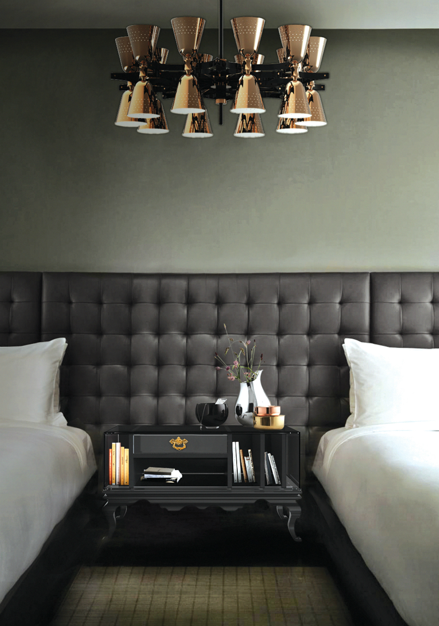 10 Exclusive Bedside Tables for your Master Bedroom Decor - Tower Nightstand by Boca do Lobo